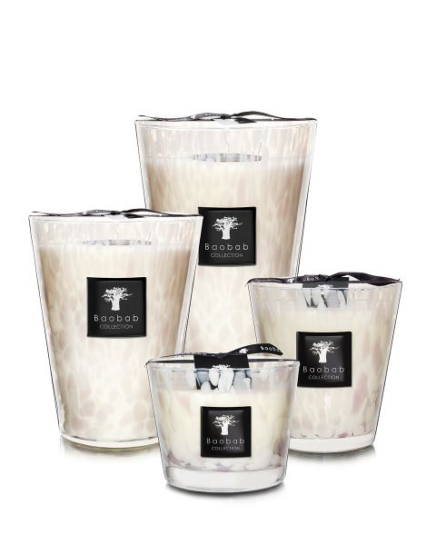 White Pearls - Candele Profumate | Baobab Collection