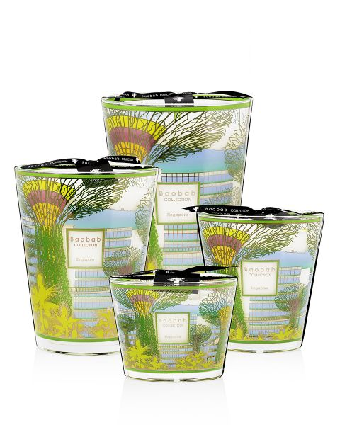 Cities - Singapore - Scented Candles | Baobab Collection